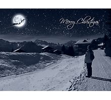 Merry Christmas Photographic Print