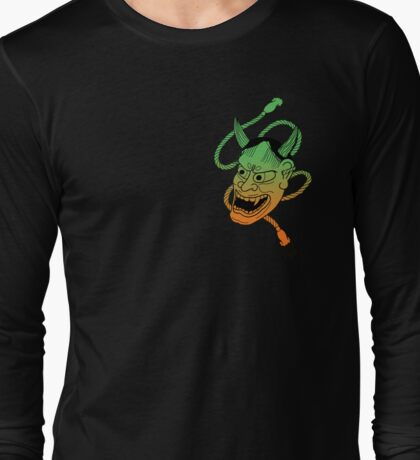 Psychedelic Hannya Long Sleeve T-Shirt