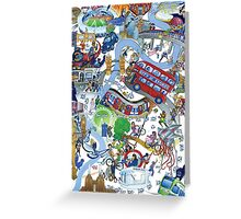 City of Stories Greeting Card
