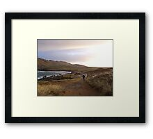 Walkin home Framed Print