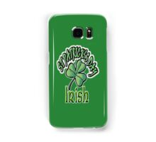 Saint Patrick's Day, Irish, Eire, Ireland, USA, Lucky Clover Samsung Galaxy Case/Skin