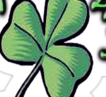 St PATRICK'S DAY, IRISH, EIRE, Ireland, USA, Lucky Clover Sticker