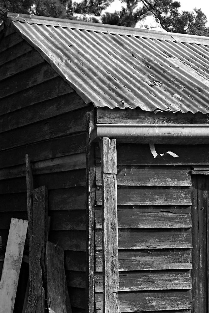 old shed by Robert Kiesskalt