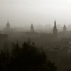 Cluj-Napoca Skyline by Phillip Moore