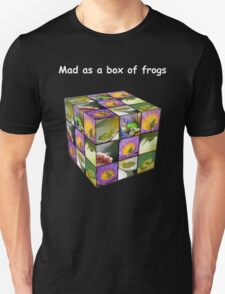 Mad as a box of frogs - darks Unisex T-Shirt