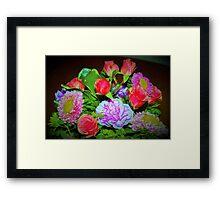 Rose combo delight Framed Print