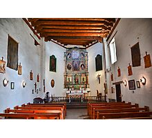 San Miguel Chapel All Quiet Photographic Print