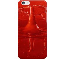 Bright Red Waterdrop iPhone Case/Skin