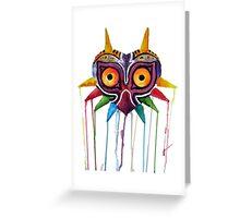 majoras mask Greeting Card