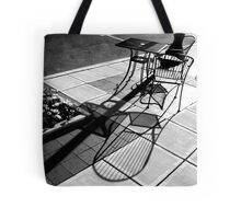 Sidewalk Shadows Tote Bag