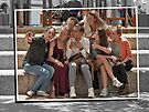 Group selfie by awefaul