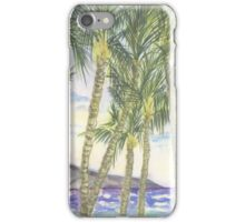 Mana Kai Beach Lynda Silva iPhone Case/Skin