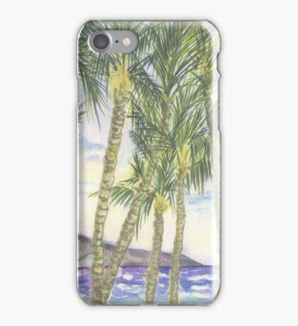 Mana Kai Beach Lynda Silva iPhone Case/Skin