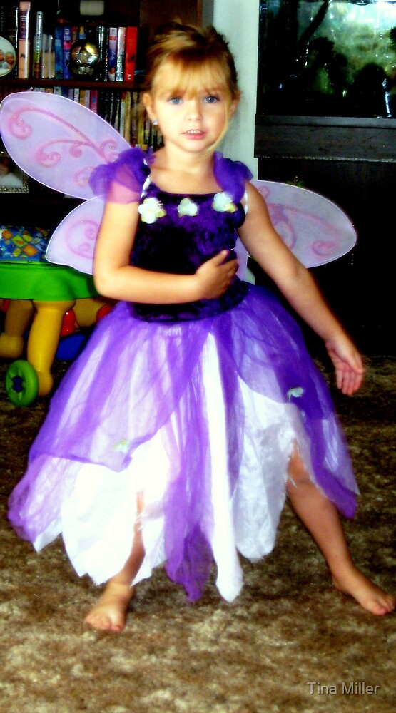 Purple Fairy Dance by Tina Miller