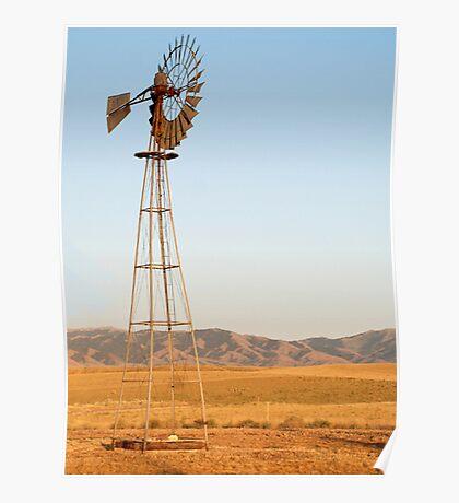 Wild West Windmills Poster