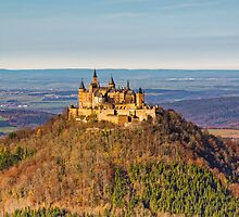 Burg Hohenzollern Castle, South Germany by Mark Bangert