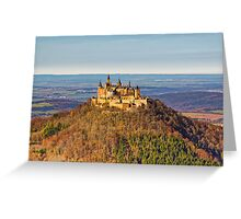 Burg Hohenzollern Castle, South Germany Greeting Card