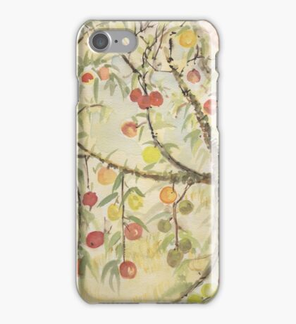 Cherry Hill California Wine Country Lynda Silva iPhone Case/Skin