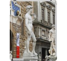 All About Italy. Piece 15 - Florence. David is Everywhere iPad Case/Skin