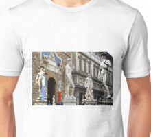 All About Italy. Piece 15 - Florence. David is Everywhere Unisex T-Shirt