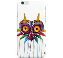 majoras mask iPhone Case/Skin