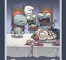 Zombie Jealousy by dooomcat