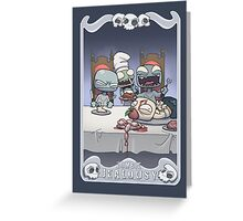 Zombie Jealousy Greeting Card