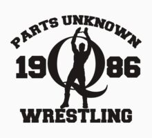 Mysterious Q - Parts Unknown Wrestling by WrestleShirts
