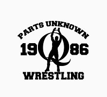 Mysterious Q - Parts Unknown Wrestling Unisex T-Shirt