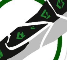 Riven blade Sticker