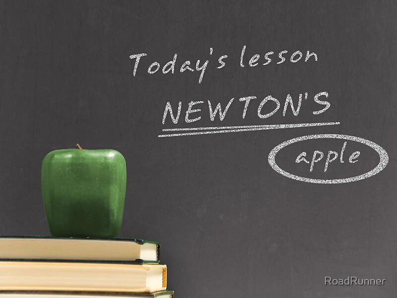 Newton Apple by RoadRunner
