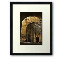 Medieval Perugia Framed Print