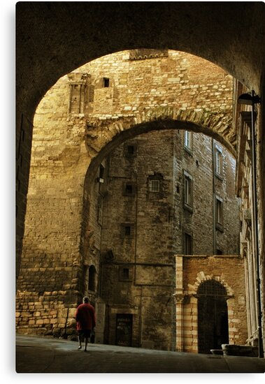 Medieval Perugia by Alessandro Pinto
