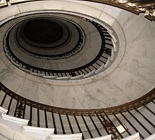 The Oval Staircase by Nikki Moore