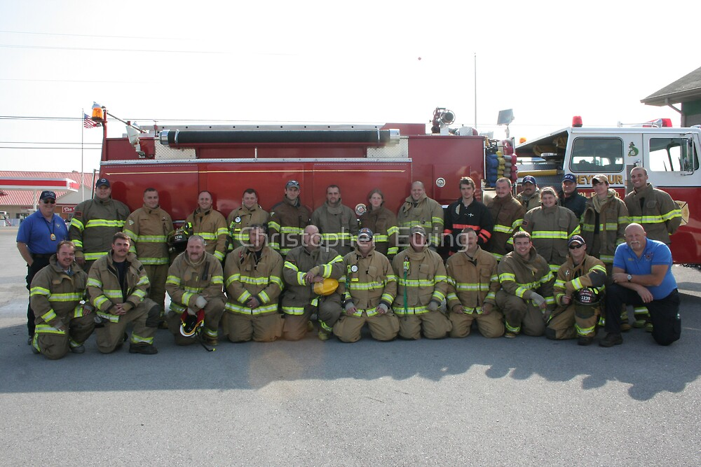 proud firefighter class of 2007 by Christopher  Ewing