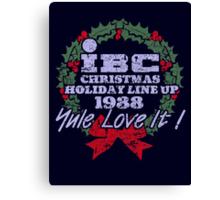 IBC Christmas Line Up Canvas Print