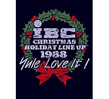 IBC Christmas Line Up Photographic Print