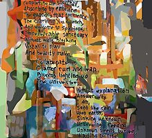 Collage Construct No. 2 with Poem by MarkArTurner