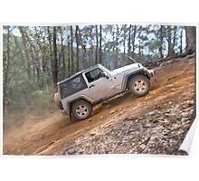 Jeep Wrangler Rubicon Poster