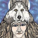 Wolf Woman by cerridwen