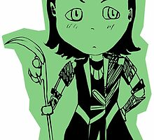 Chibi Loki Laufeyson (green version) by Saphiria333