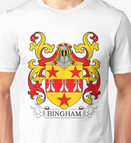 Bingham Coat of Arms Unisex T-Shirt