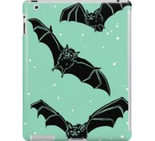 Batty in Mint iPad Case/Skin