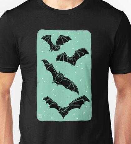 Batty in Mint Unisex T-Shirt