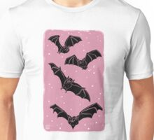 Batty in Rose Unisex T-Shirt