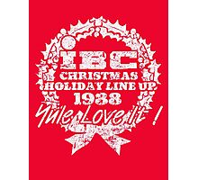 IBC Christmas Line Up- RED Photographic Print