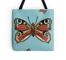 Admiral Butterfly Tote Bag