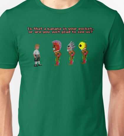 Is That A Banana In Your Pocket? Unisex T-Shirt