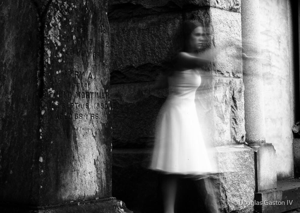 Creepy Cemetery Ghost 1 by Douglas Gaston IV