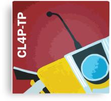 Claptrap! Canvas Print